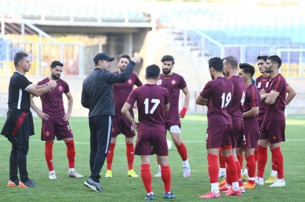 خبرنگاران برگزاری آخرین تمرین پرسپولیس پیش از شروع جام حذفی